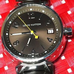 Louis Vuitton Q13110 Tambour Men's Quartz